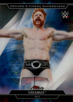 2020 Topps WWE Finest - Decade's Finest Superstars #S-9 Sheamus Front
