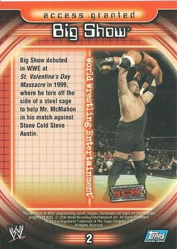 2006 Topps WWE Insider Wrestling - Gallery | The Trading