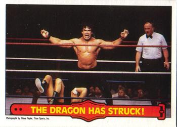 1985 O-Pee-Chee WWF Series 2 #26 The Dragon Has Struck! Front