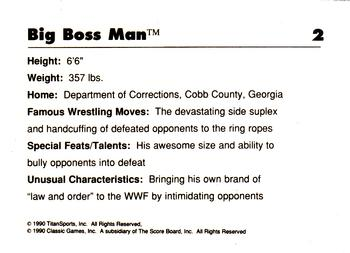 Collection Gallery - Berton Russell - Big Boss Man | The