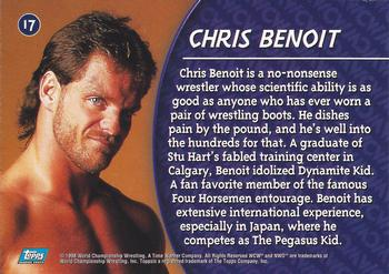 1998 Topps WCW/nWo #17 Chris Benoit  Back