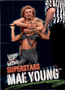 2001 Fleer WWF Wrestlemania #56 Mae Young  Front