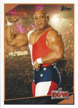 WWE slam attax-tony atlas hall of fame trading card