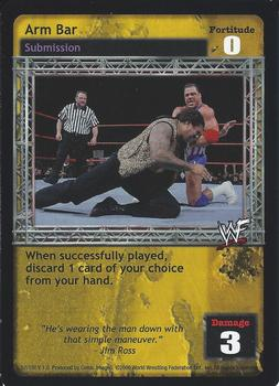 2000 Comic Images WWF Raw Deal #51 Arm Bar Front