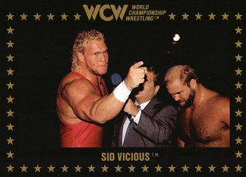 1991 Championship Marketing WCW #18 Sid Vicious Front