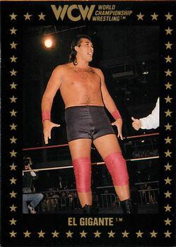 El Gigante #85 WCW 1991 Impel Wrestling Trading Card