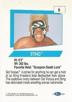 1991 WCW (Impel) Checklist (No.162)   Pro Wrestling   Fandom
