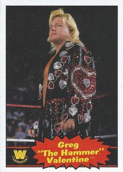 2012 Topps WWE Heritage #76 Greg The Hammer Valentine