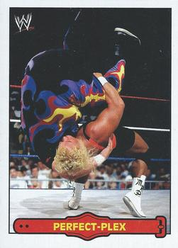 2012 Topps WWE Heritage - Ringside Action #4 Mr. Perfect/Perfect-Plex Front