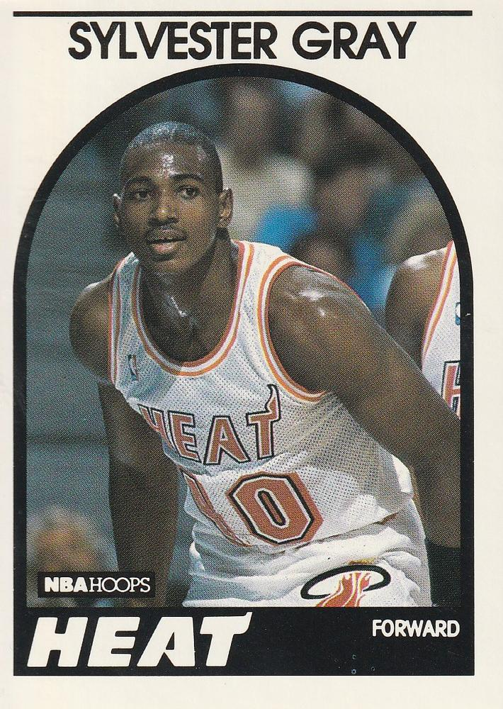 1989 Hoops Sylvester Gray