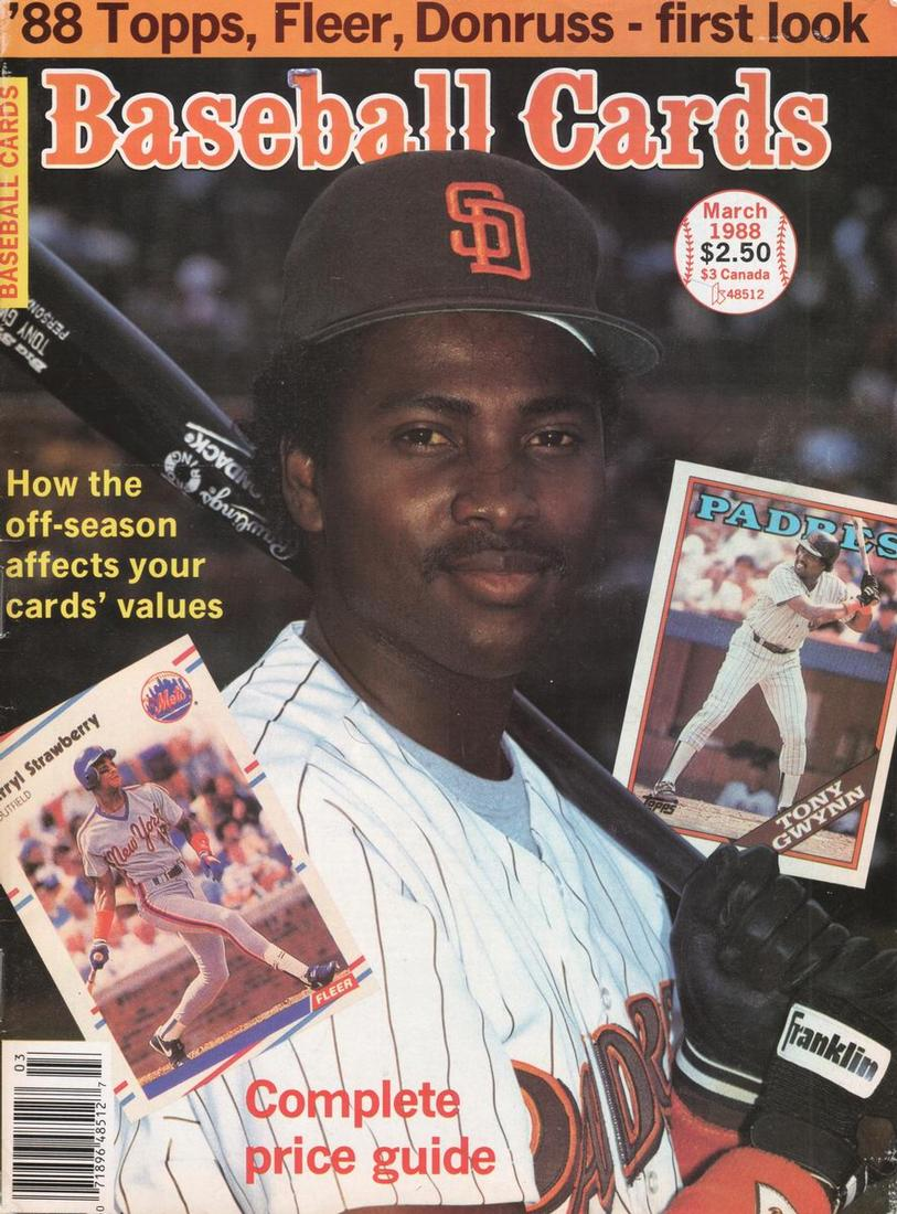 Baseball Cards March 1988 The Trading Card Database